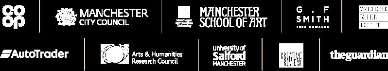Design Manchester sponsor logos
